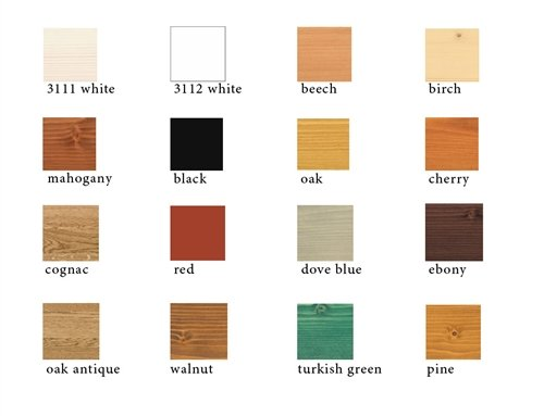 Osmo Wood Wax Finish - .75 liter