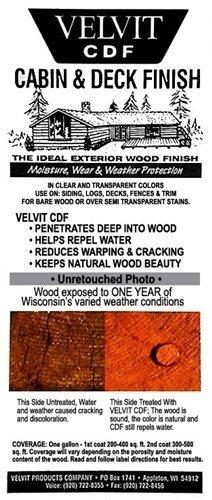 Velvit Cabin & Deck Finish - 5-gallon