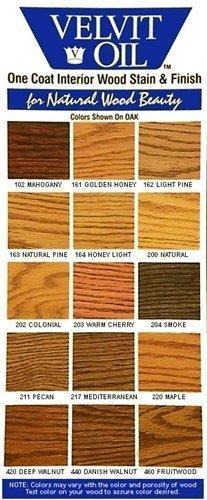 Velvit Oil Low VOC wood stain and sealer - interior- pint